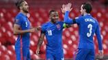 England ran out 5-0 winners against San Marino