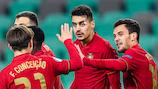 Portugal venceu a Inglaterra no domingo