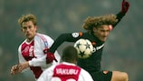 Roma's Francesco Totti during his side's December 2002 game at Ajax