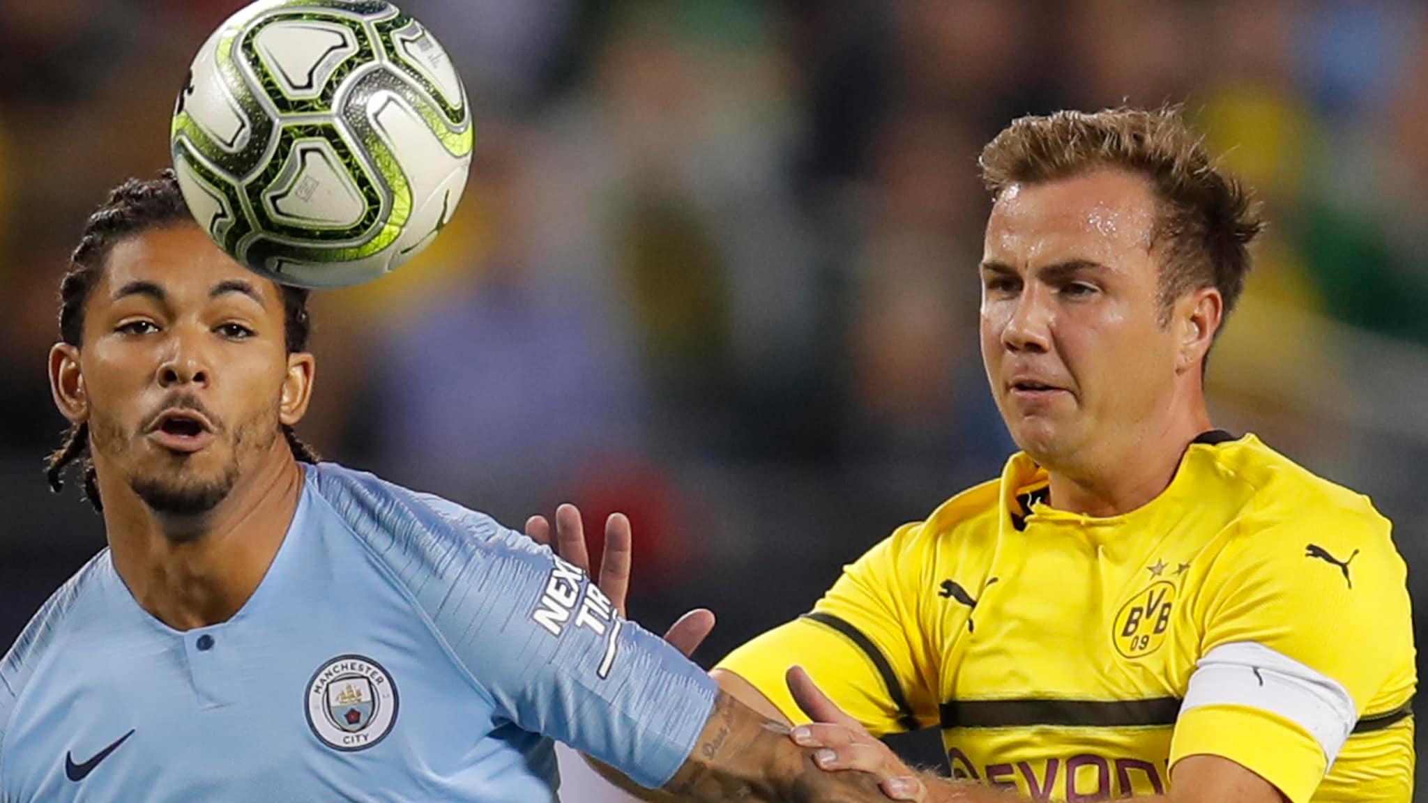 Manchester City vs Borussia Dortmund: Lineup and how to ...  |Man City-dortmund