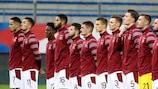 Switzerland line up in qualifying
