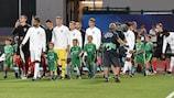 Croatia and England ahead of their 2019 meeting