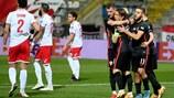 Croacia finalmente rompió Malta