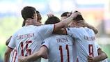 Датчане разгромили сборную России