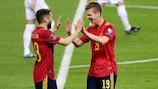Spain beat Kosovo in their most recent qualifier