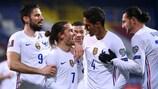 Francia lidera su grupo en la clasificación