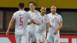 Highlights: Austria 0-4 Denmark (2 mins)