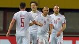 Autriche 0-4 Danemark