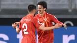 A Macedónia do Norte produziu a surpresa da noite ao vencer na Alemanha