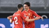 Nordmazedonien überraschte beim Sieg gegen Deutschland