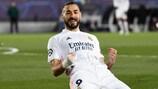 Karim Benzema, un goleador histórico en la Champions League