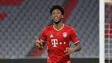 Bayern's Kingsley Coman was born in Paris