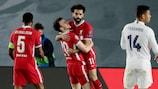 Salah marcó el gol que da esperanzas al Liverpool