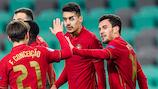Todos os golos do grupo de Portugal