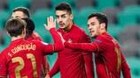 Alle bisherigen Tore Portugals