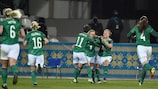 Northern Ireland defend a 2-1 lead at home to Ukraine on Tuesday
