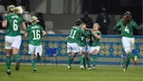 Irlanda del Norte ganó por 1-2 a la República Checa
