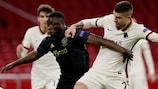 Roma won the first leg 2-1