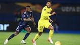 Villarreal won the first leg 1-0