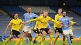 Manchester City mène 2-1 après le match aller