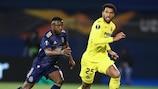 El Villarreal ganó 0-1 en la ida