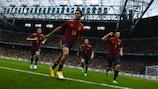 Испания выиграла восемь матчей подряд