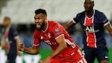 Follow the action: Paris vs Bayern