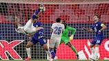 Mehdi Taremi sorgte mit diesem Fallrückzieher für das späte Highlight des Spiels