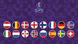 As 16 nações que vão marcar presença na fase final