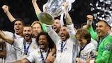 Real Madrid gewann den Titel von 2016 bis 2018 dreimal in Folge