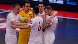 Polen hat sich am Mittwoch qualifiziert