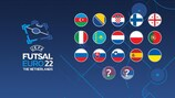EURO de futsal, les qualifiés