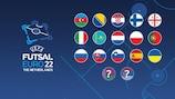 Conheça os participantes no Futsal EURO