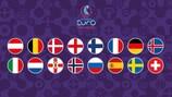Les 16 nations qualifiées pour l'EURO
