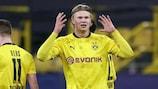 Erling Haaland ha segnato 10 gol finora in Champions League