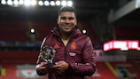 Casemiro was named Player of the Match for his display at Anfield