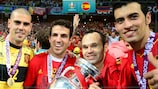 Spain's most recent triumph came in 2012