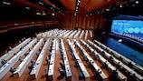 O 45º Congresso Ordinário da UEFA realizou-se a 20 de Abril de 2021, em Montreux, Suíça