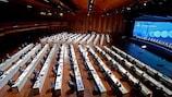 45-й Очередной Конгресс УЕФА прошел в Монтре 20 апреля 2021 года