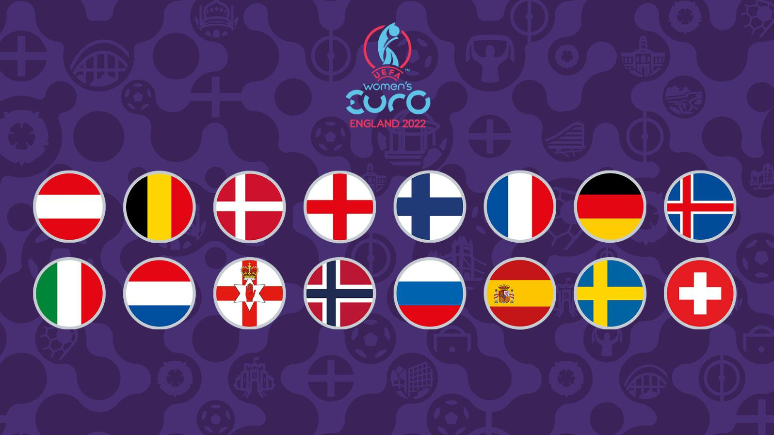 Who has qualified for Women's EURO?