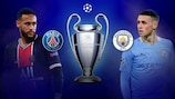 Paris host Manchester City in the semi-final opener