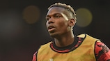 Manchester United's Paul Pogba ahead of the quarter-final second leg