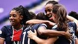 Paris warf im Viertelfinale Titelverteidiger Lyon aus dem Wettbewerb