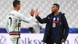 Kylian Mbappé and Cristiano Ronaldo are set for another meeting at UEFA EURO 2020
