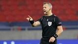 Bjorn Kuipers, dos Países Baixos, vai ser um dos árbitros do UEFA EURO 2020