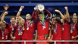 Portugal fez a festa  em 2016