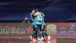 Inter gewann im Viertelfinale gegen Ugra
