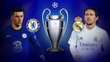 Chelsea and Real Madrid meet in the second leg on Wednesday 5 May