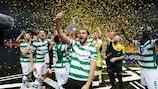 Sporting CP feiert den Titel in Zadar