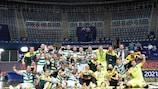 L'Inter ha eliminato l'Ugra giovedì